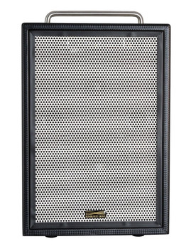 Sunburst Gear MM3P Three Channel Mixer/Monitor Portable All-in-One Battery Powered PA Speaker System - front view