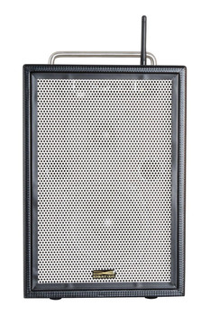 Sunburst Gear M3BR8 Three Channel Mixer/Monitor Portable All-­‐in-­‐One Rechargeable Bluetooth PA Speaker System - front view