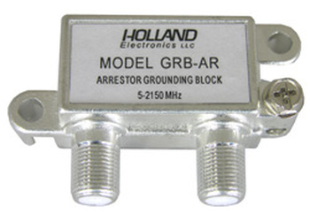 Holland GRB-AR Ground Block Voltage Spike Arrestor
