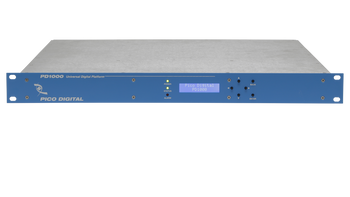 PD1000-6 Pico Digital 6-Channel HD/SD Encoder with QAM and IP Outputs - Front