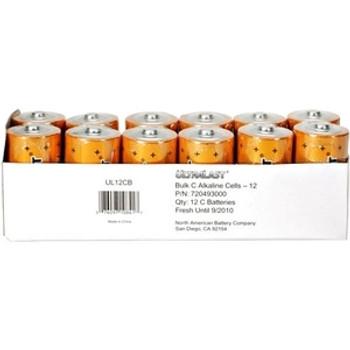 NABC UltraLast UL12CB Size C Alkaline General Purpose Battery