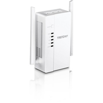 TRENDnet Wi-Fi Everywhere Powerline 1200 AV2 AC1200 Wireless Access Point, Expand Your Wireless Coverage, Built-in Concurrent Dual-Band, 3 x Gigabit Ports, MIMO, Beamforming, White, TPL-430AP