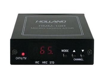 Holland Electronics HMM-10H Agile UHF and CATV Mini Modulator with LED Display