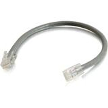 C2G-25ft Cat5E Non-Booted Unshielded (UTP) Network Patch Cable (100pk) - Gray