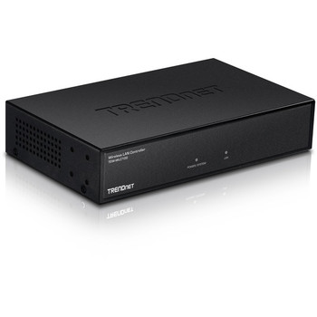 TRENDnet Wireless LAN Controller; Built-in 5-Port GB Switch; Compatible with: TEW-755AP/TEW-821DAP/TEW-825DAP; Access Point Management; TEW-WLC100