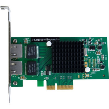 SIIG Dual-Port Gigabit Ethernet PCIe 4-Lane Card - I350-T2