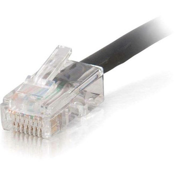 C2G 3ft Cat5e Non-Booted Unshielded (UTP) Network Patch Cable (Plenum Rated) - Black