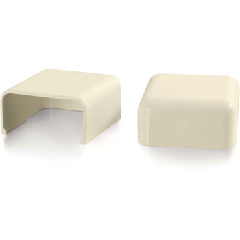 C2G Wiremold Uniduct 2900 Blank End Fitting - Ivory