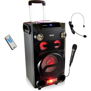 Pyle Portable Bluetooth Karaoke Speaker System