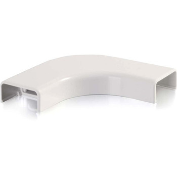 C2G Wiremold Uniduct 2800 Bend Radius Compliant Flat Elbow - White