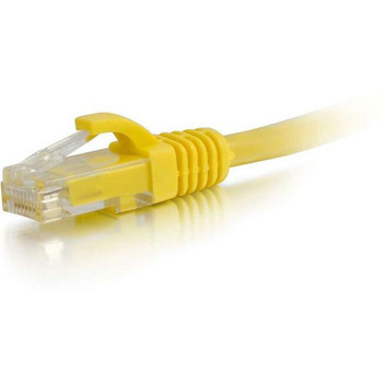 C2G-1ft Cat5e Snagless Unshielded (UTP) Network Patch Cable - Yellow
