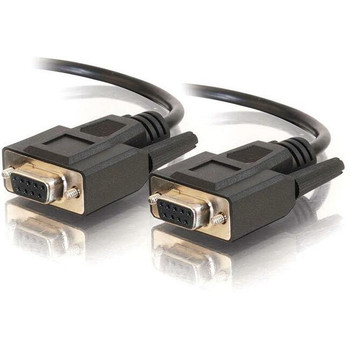 C2G 1ft DB9 F/F Cable - Black