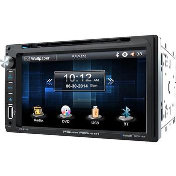 "Power Acoustik PD-651B Car DVD Player - 6.5"" Touchscreen LED-LCD - 68 W RMS - Double DIN"