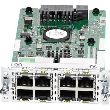 Cisco 8-Port Gigabit Ethernet Switch NIM