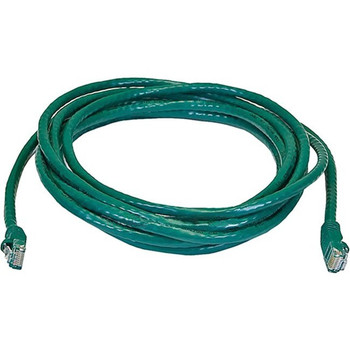 Monoprice Cat6 24AWG UTP Ethernet Network Patch Cable, 14ft Green