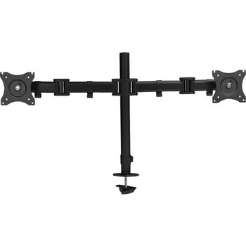 """SIIG Dual Monitor Articulating Desk Mount - 13"""" to 27"""""""