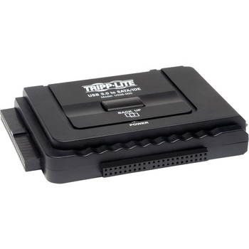 Tripp Lite USB 3.0 SuperSpeed to Serial ATA SATA and IDE Adapter for 2.5in and 3.5 inch Hard Drives