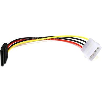 Monoprice 6inch SATA 15pin Female to Molex 4pin Male Power Adapter