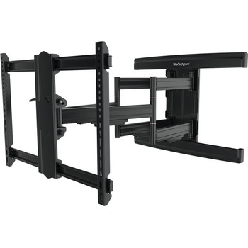"""StarTech.com TV Wall Mount supports up to 100"""" VESA Displays - Low Profile Full Motion Large TV Wall Mount - Heavy Duty Adjustable Bracket"""