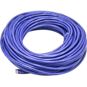Monoprice Cat5e 24AWG UTP Ethernet Network Patch Cable, 100ft Purple