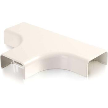 C2G Wiremold Uniduct 2900 Bend Radius Compliant Tee - Fog White