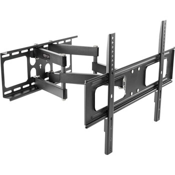 Tripp Lite TV Wall Mount Outdoor Swivel Tilt with Fully Articulating Arm for 37-80in Flat Screen Displays