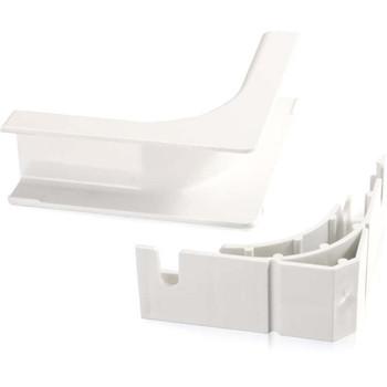 C2G Wiremold Uniduct 2800 Bend Radius Compliant Internal Elbow - White