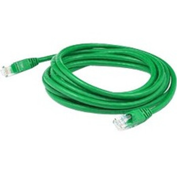 AddOn 3ft RJ-45 (Male) to RJ-45 (Male) Straight Green Cat5e UTP PVC Copper Patch Cable