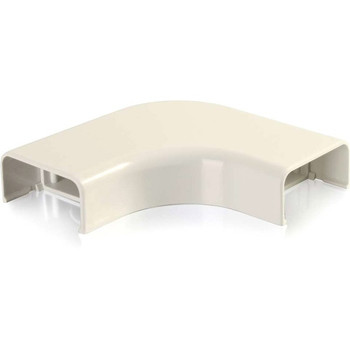C2G Wiremold Uniduct 2900 Bend Radius Compliant Flat Elbow - Ivory