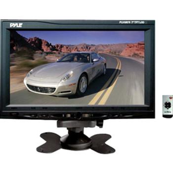"Pyle PLVHR75 7"" Active Matrix TFT LCD Car Display - Gray"