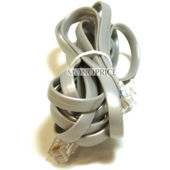 Monoprice Phone cable, RJ12 (6P6C), Straight - 7ft for Data