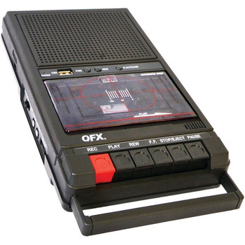 QFX Shoebox Tape Recorder