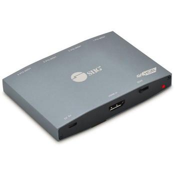 SIIG 1x4 HDMI 2.0 4K HDR Splitter with EDID