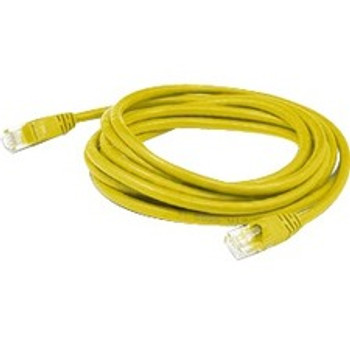AddOn 3ft RJ-45 (Male) to RJ-45 (Male) Straight Yellow Cat5e UTP PVC Copper Patch Cable