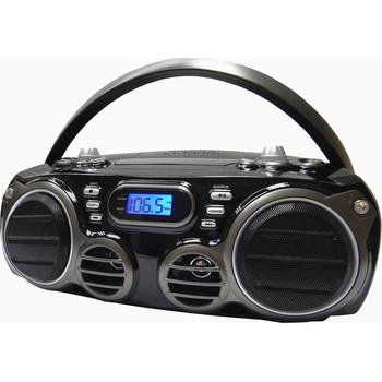Sylvania Bluetooth Portable CD Radio Boombox