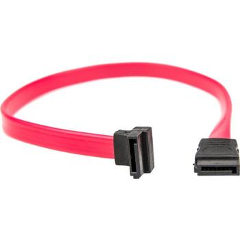 Rocstor Premium 18in SATA Serial ATA Cable - SATA - 18in - 1 x Female SATA - 1 x Female SATA - Red
