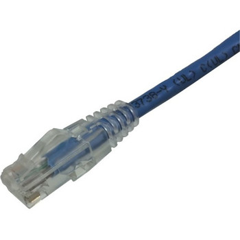Weltron CAT6A Booted Patch Cord - 25FT BLUE