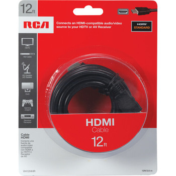 RCA VH12HHR 12 Ft HDMI Cable