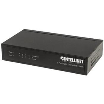 Intellinet 5-Port Gigabit Ethernet PoE+ Switch