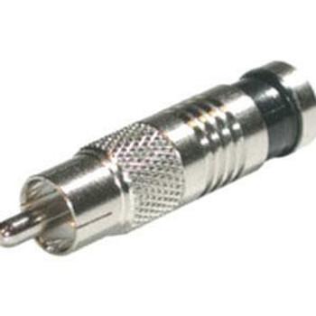 C2G RG59 Compression RCA Connector - 50pk