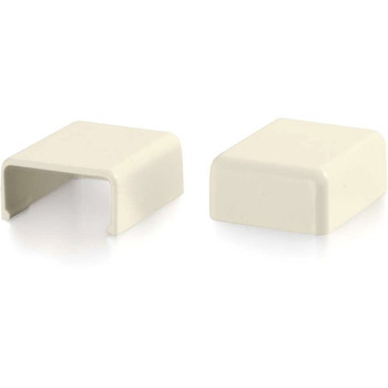 C2G Wiremold Uniduct 2700 Blank End Fitting - Ivory