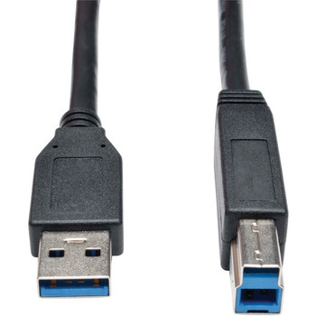 Tripp Lite 10ft USB 3.0 SuperSpeed Device Cable 5 Gbps A Male to B Male Black