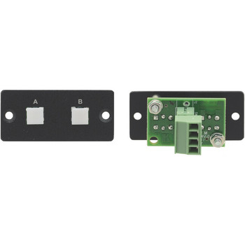 Kramer RC-20TB Wall Plate Insert - 2-Button Contact Closure Switch