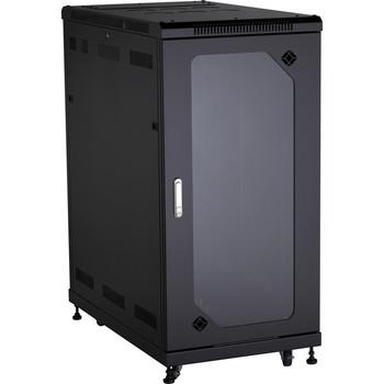 Black Box Select Plus Cabinet with Plexi Front Door, 24U