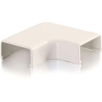 C2G Wiremold Uniduct 2700 9 Flat Elbow - Fog White