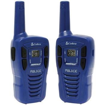 Cobra HE146 16-Mile Power Saving Two-Way Radio/Walkie Talkie Blue