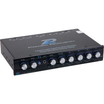 Power Acoustik PWM-16 Car Equalizer - Parametric - Fader - 4 Band