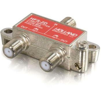 C2G High-Frequency 2-Way Splitter