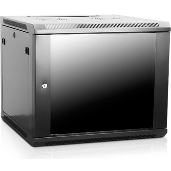 Claytek 9U 600mm Depth Wallmount Server Cabinet with 1U Keyboard Drawer