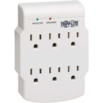 Tripp Lite Surge Protector Wallmount Direct Plug In 120V 6 Outlet 540 Joules